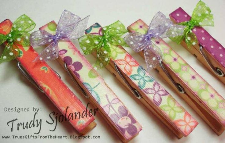 Purr :D Clothespin Magnets by true-2-you - Cards and Paper Crafts at Splitcoaststampers