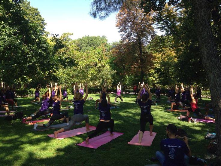 Clases de yoga en Metropolitan Abascal.