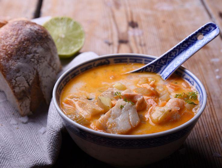 Läcker fisksoppa från tidningen Mer Smak.