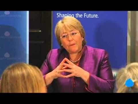 A Conversation With Her Excellency Michelle Bachelet, President of Chile