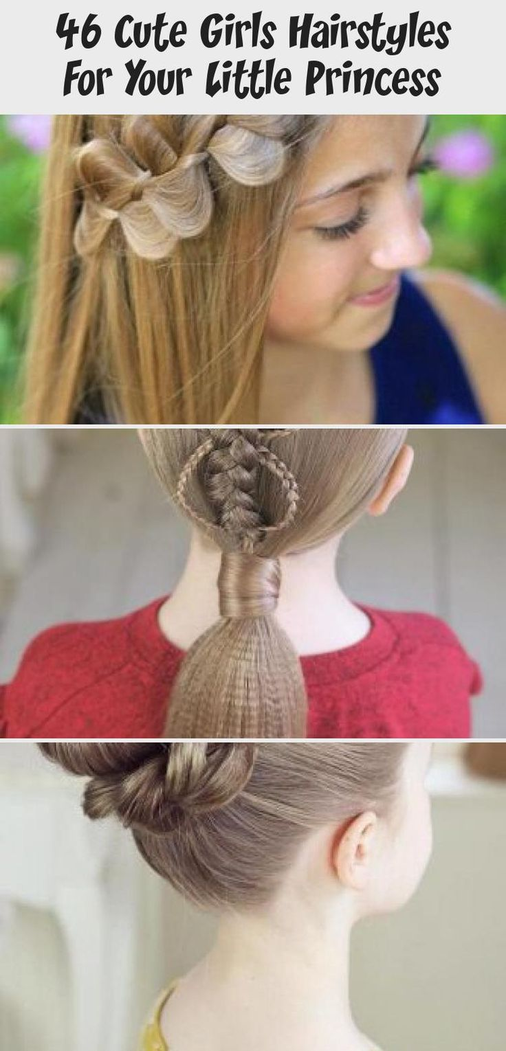 46 CUTE GIRLS HAIRSTYLES FOR YOUR LITTLE PRINCESS – My Stylish Zoo #kidshairstyles #kidshairstylesforschools #babyhairstylesHalfUp #babyhairstylesFunny #babyhairstyles2019 #Ethnicbabyhairstyles #Baldbabyhairstyles