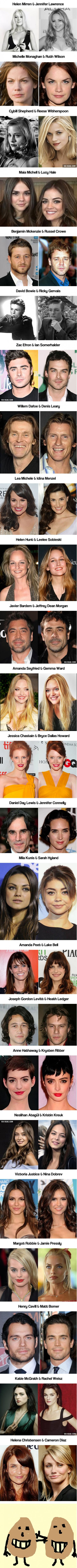 17 Best Ideas About Celebrity Doppelganger On Pinterest