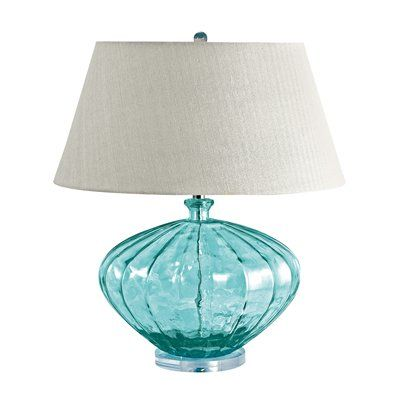 Lamp Works 210 Glass Melon Table Lamp