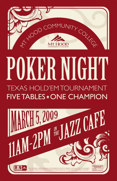 poker tournament posters