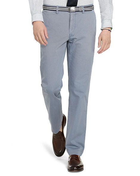 Straight-Fit Cotton Chino - Polo Ralph Lauren Sale - RalphLauren.com