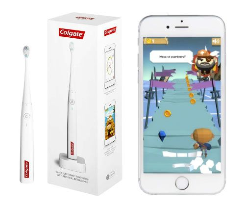 Colgate Joins Hands with Apple to Introduce Its First App-Enabled Electric Toothbrush See More: