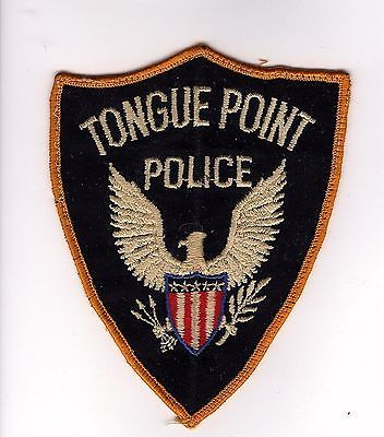 Obsolete-1960s-Tongue-Point-Naval-Station-Oregon-Police-Patch
