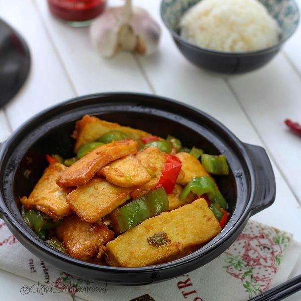 Crispy tofu, Tofu and Chinese recipes on Pinterest