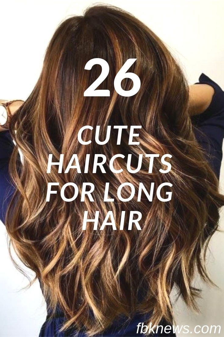 Long hair looks charming and feminine so it is always popular no