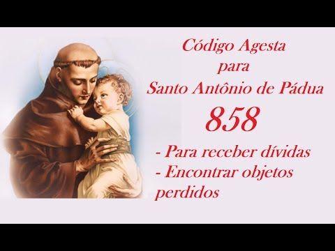 Código Agesta 858 - PARA RECEBIMENTO DE DÍVIDAS E ENCONTRAR OBJETOS PERDIDOS - YouTube