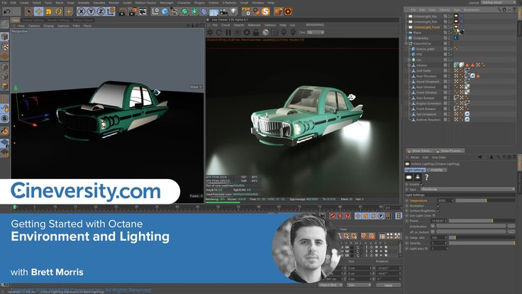Getting Started with Octane: Environment and Lighting
