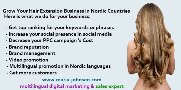 hair extension marketing ( SEO, social media and ppc ad management)