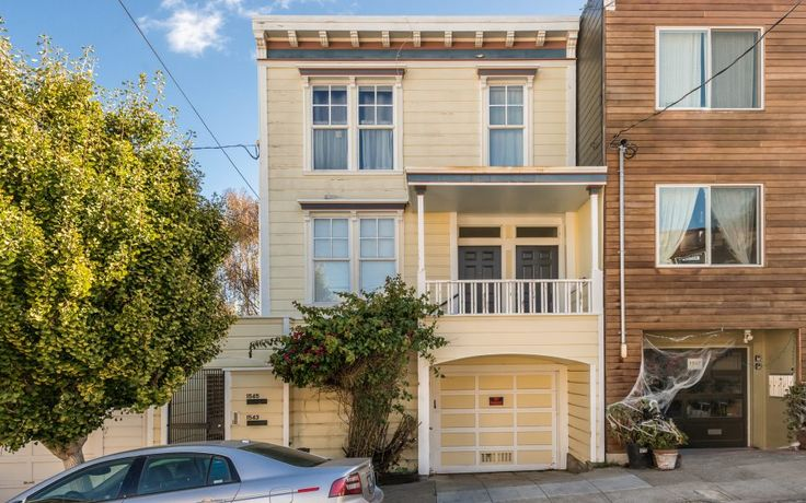 Built in 1900, 1543 – 1545 Treat Avenue is a two-unit building with two-car parking, a large back yard, and a bonus garden studio situated one-half block from Bernal Heights' charming Precita Park.  #sf #sflove #sanfrancisco #BernalHeights #bernal #PotreroHill #homes #realestate #architecture #hills #historic #happyliving #livehappy