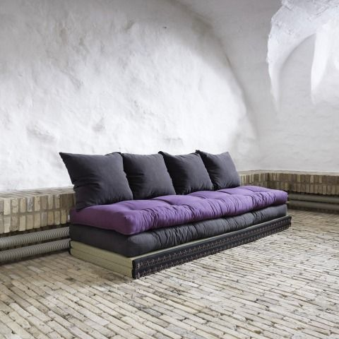 Canapé design Tatami Caroki avec futon matelas