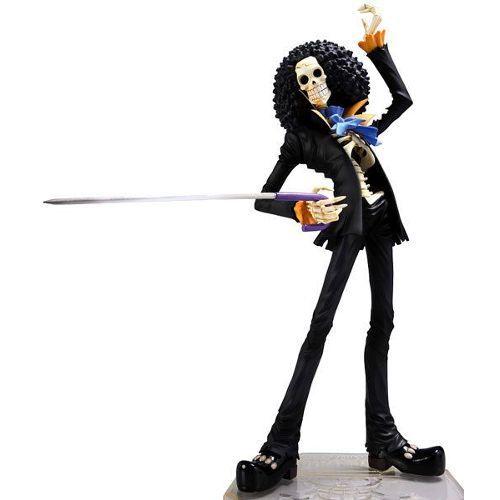 One Piece Pop Portrait Of Pirates Brooks Musicien Chapeau De Paille Monkey D. Luffy - Achat et vente de Figurine neuve et doccasion sur PriceMinister