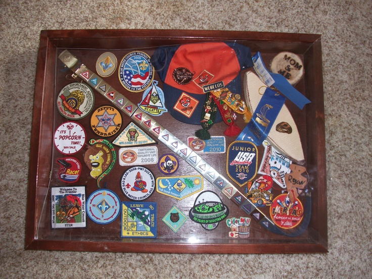 Cub Scout Shadow Box & 13 best Cub Scout Shadow Boxes images on Pinterest   Boy scouts ... Aboutintivar.Com