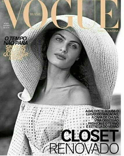 Isabeli Fontana by Raphael Pavrotti for Vogue Brasil October 2017