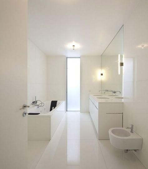 Minimalist Bathroom Pinterest: 25+ Best White Minimalist Bathrooms Ideas On Pinterest