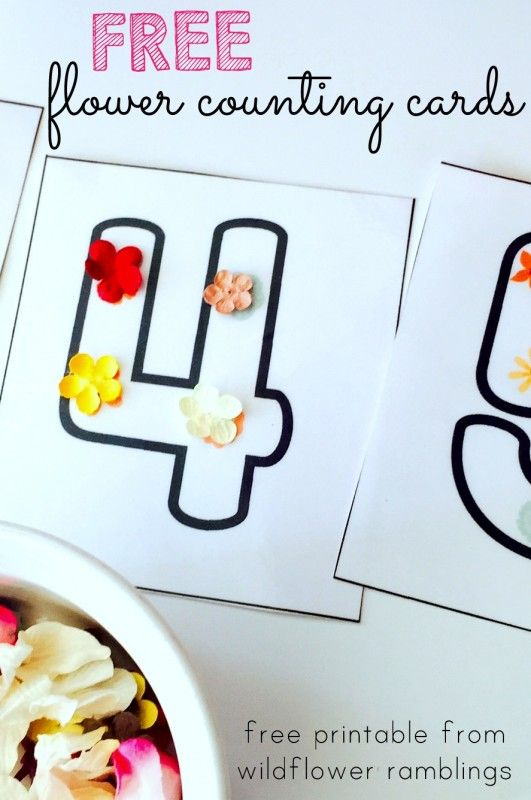 73 Best Free Number Printables For Preschool K Images On