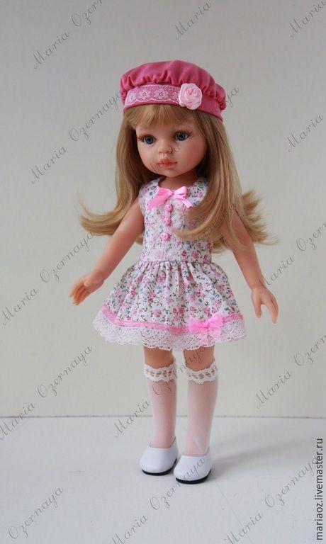 Купить Летний наряд - разноцветный, паола рейна, одежда, одежда для кукол, paola reina, аутфит
