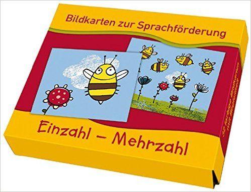 Einzahl - Mehrzahl Bildkarten zur Sprachförderung: Amazon.de: Lena Morgenthau: Bücher