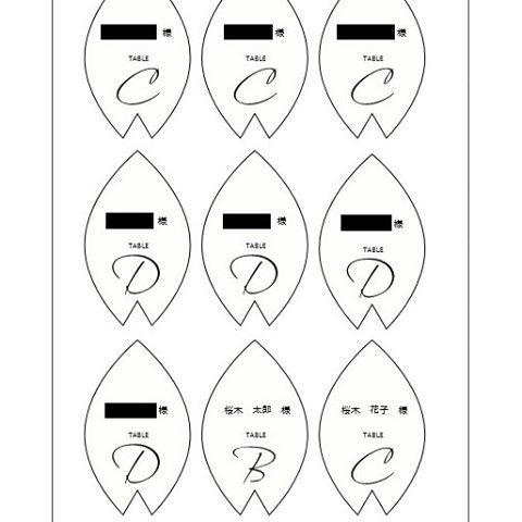 【itigo_wedding】さんのInstagramをピンしています。 《🌸桜の花びらのエスコートカード🌸 自己流で参考になるかわかりませんが、作り方について問い合わせがあったのでポストします! (1)お絵かきソフトで桜の花びらを描く ※手描きしてスキャンしても◎ (2)名刺大程度の大きさにサイズ調整する (3)お絵かきソフトまたはワード等でA4サイズに9コ桜の花びら画像を並べ、文字を乗せる (4)印刷してハサミで切り取る ※用紙はミューズラフィーネうすももを使用しました。キラキラ面に印刷しました。 ※切り取りは線を見せると手作り感がでて、線を見せないと手作り感が消せると思います。 (5)パンチで穴あけ後、ハトメをつける (6)リボンをつける ※シフォンリボンを使用しました。酒瓶に巻きつけて結び、瓶から抜いて輪っかを作りました。 #エスコートカード #結婚式 #結婚式手作り #手作り結婚式 #桜 #春挙式》