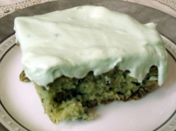 Pistachio Cake  Light and lovely, this sweet green delight has just the perfect amount of pistachio flavor (which I love). Add a few drops of green food coloring for an even more vibrant green color.