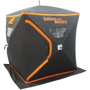 Find the Lakes N Rivers 2-Person Ice Fishing House by Lakes N Rivers at  sc 1 st  Pinterest : fleet farm tents - memphite.com