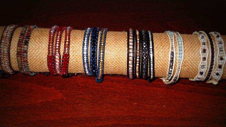 Exhibidor pulseras by me #DIY #wraps #handmade #jewelry