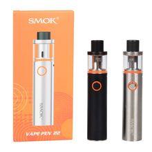 100% Original Smok Vape Pen 22 Kit Electronic Cigarettes Built-in 1650mah Battery with Vape Pen 22 Tank 0.4ohm Dual Core Vape