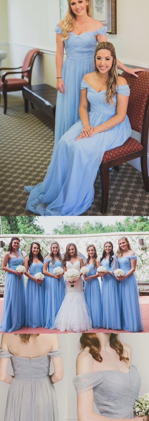 The 25 best light blue bridesmaid dresses ideas on pinterest long a lineprincess bridesmaid dresses light blue sleeveless with ruffles floor length bridesmaid dresses wf02g47 778 ombrellifo Gallery