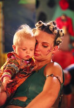 The Tribe ... TV Show ... Amber with her son Bray jr.
