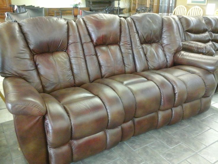 Recliner Sofa Furniture Living Room Three Pieces Brown Suede Sofa Lazy Boy Leather Sofa