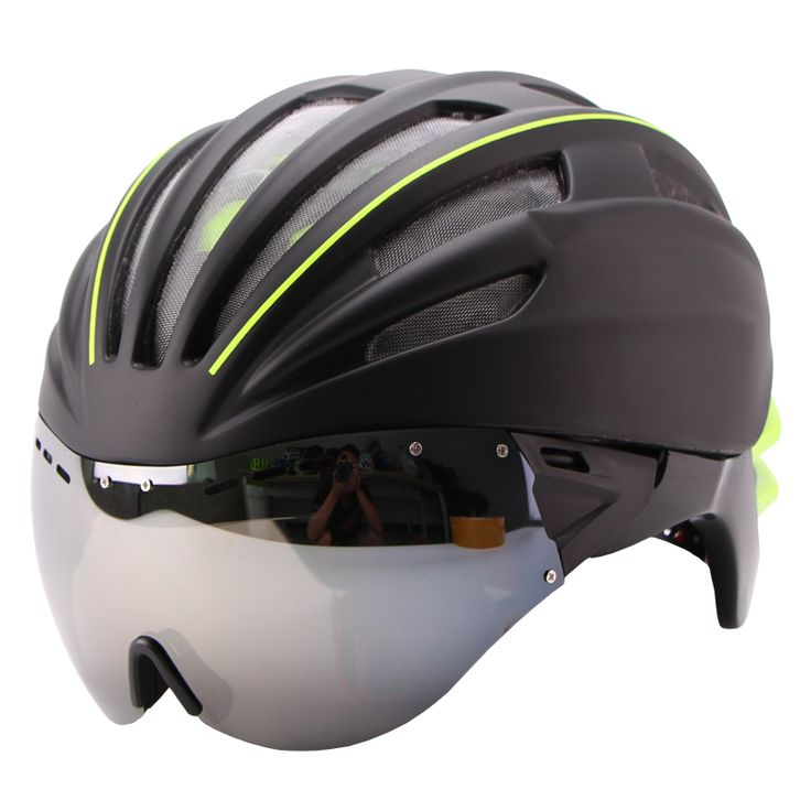 Cycling Helmet With Double Lens Layers     Tag a friend who would love this!     FREE Shipping Worldwide     Get it here ---> http://cyclingfest.com/cycling-helmet-with-double-lens-layers/