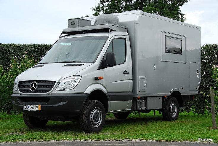 Exploryx impala vi 4x4 mercedes sprinter expedition for Mercedes benz sprinter 4x4 motorhome