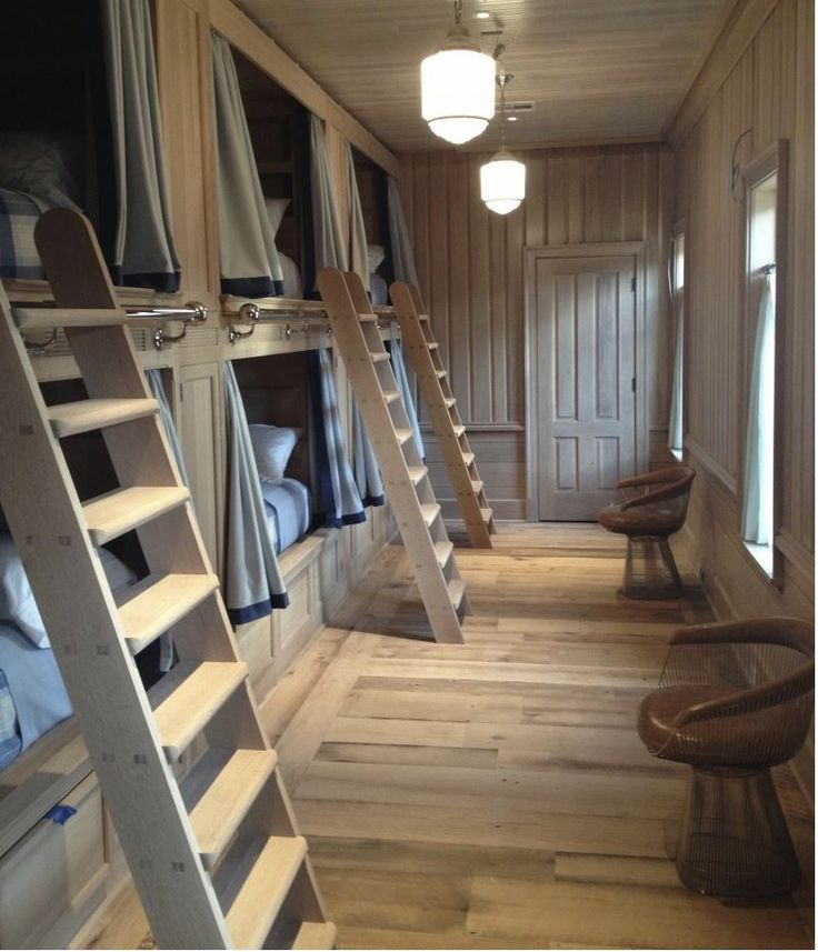 Lakefront Cottage Design Idea Observation Loft: Best 25+ Bunk Rooms Ideas On Pinterest
