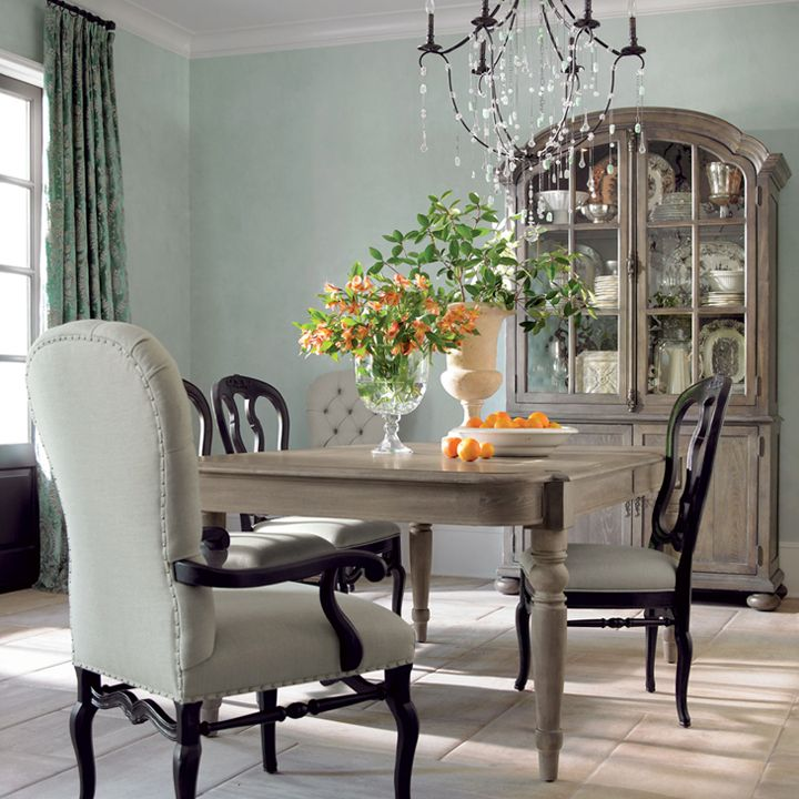 Bernhardt Belgian Oak Dining Room