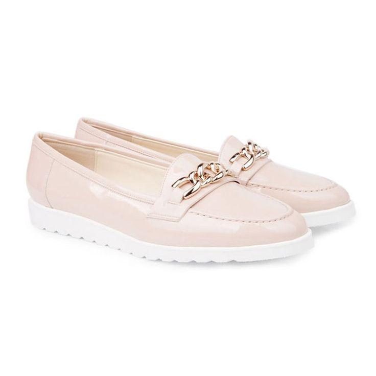 Katie B Cream Creeper Shoes