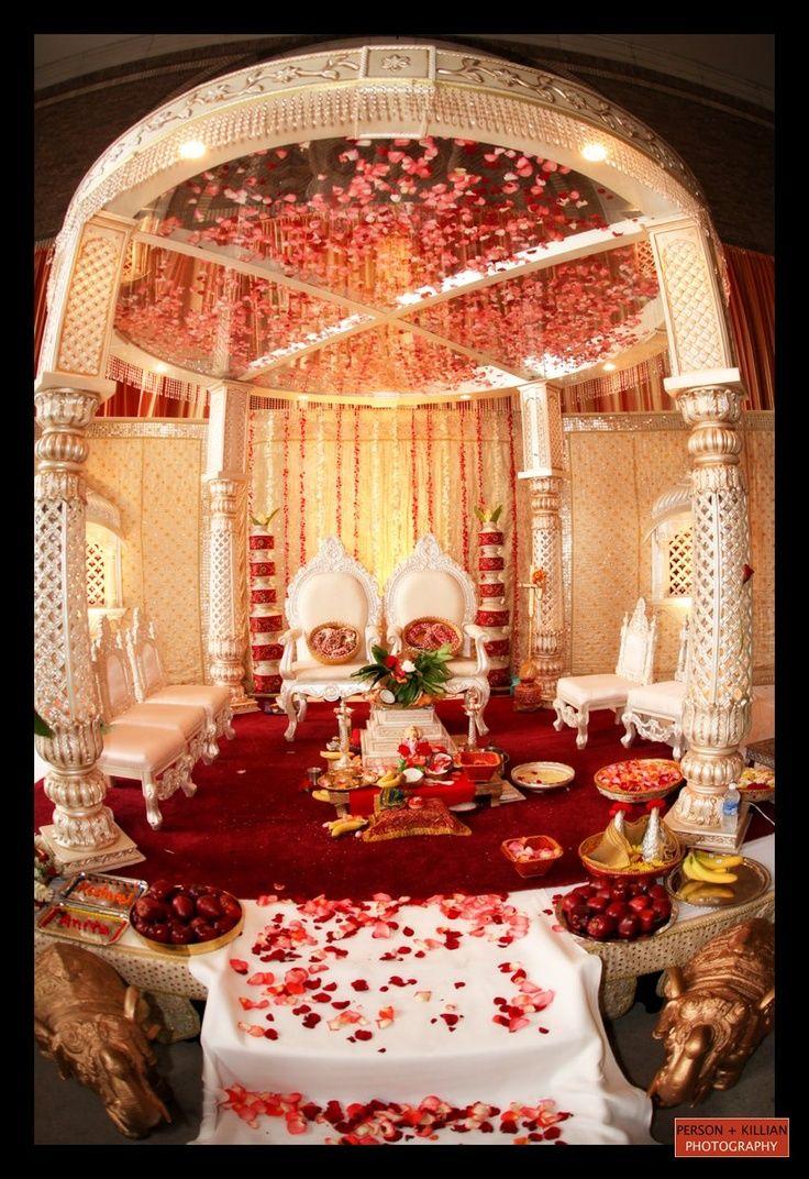 Orange traditional wedding decor   best wedding photoshoot images on Pinterest  Desi wedding India