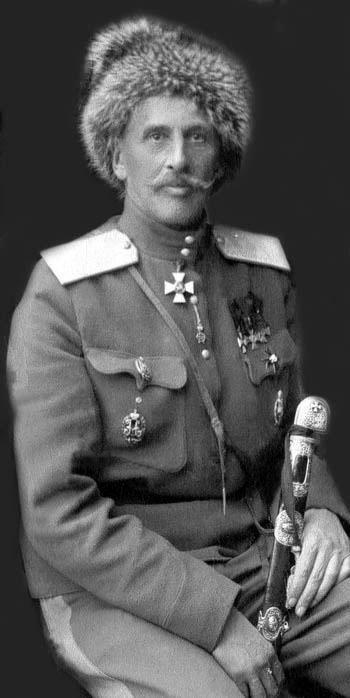 Earl Fyodor Arturovich Keller. (1857 - 1918) The first Russian saber.