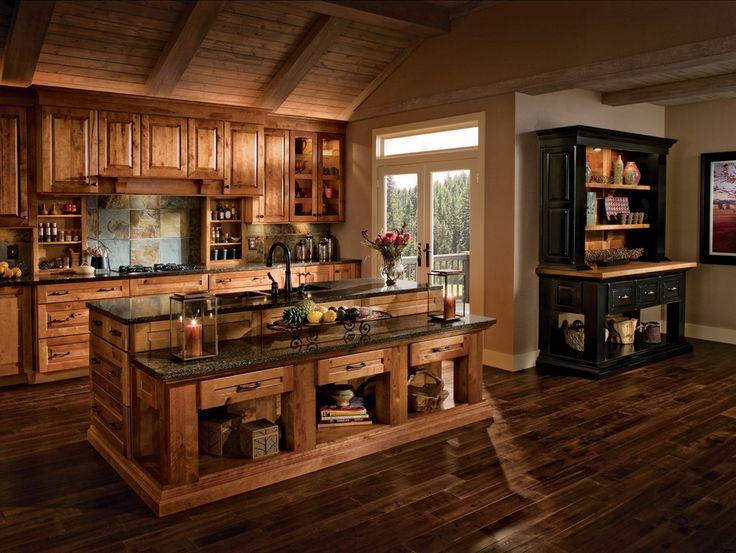 Pretty kitchen.: Beautiful Kitchens, Dreams Houses, Kitchens Design, Dreams Kitchens, Kitchens Ideas, Houses Ideas, Rustic Kitchens, Kitchens Cabinets, Dreamhous