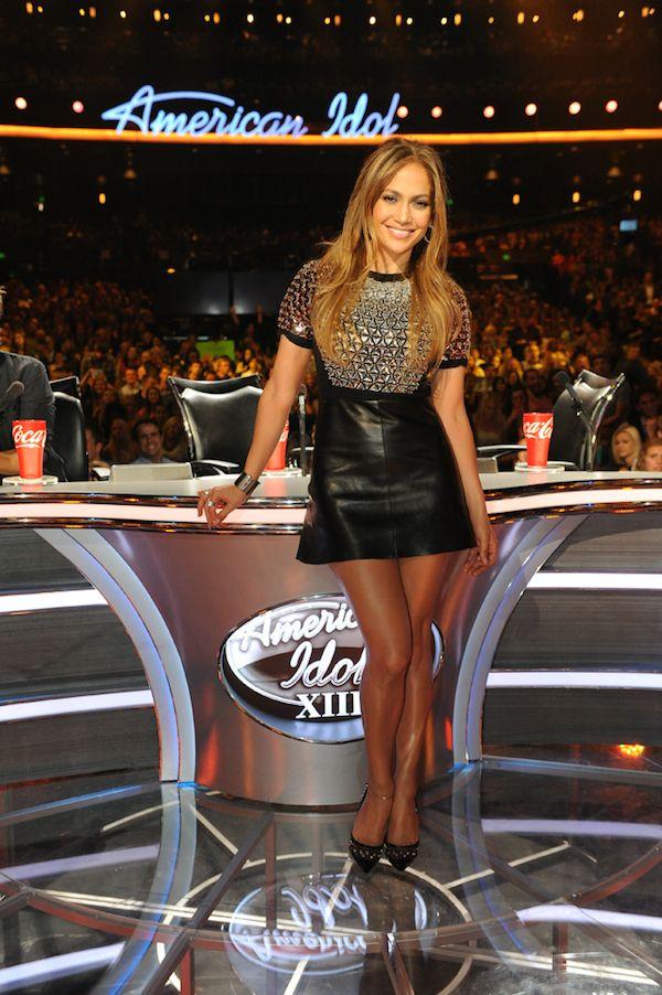 2fdb37da33 Jennifer Lopez's American Idol Gucci Fall 2014 Black Embellished Mini Dress    Glam   Jennifer lopez, Fashion, J lo fashion