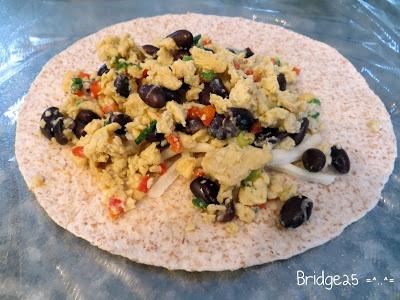 Les Cinq Sens: Burritos déjeuner