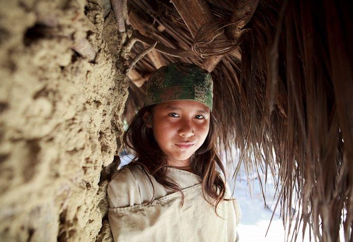 Joven de la Tribu Kogui. www.magictourcolombia.com