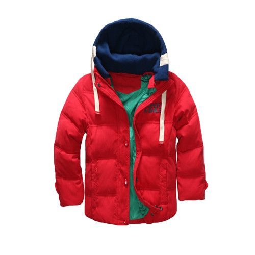 Boys Blue winter coats  Jacket kids Zipper jackets Boys thick Winter jacket high quality Boy Winter Coat kids clothes WOW Visit us