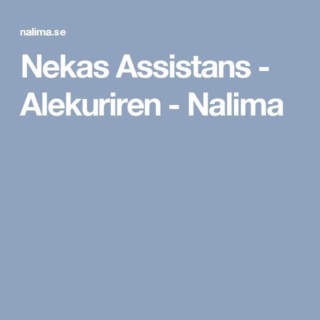 Nekas Assistans - Alekuriren - Nalima