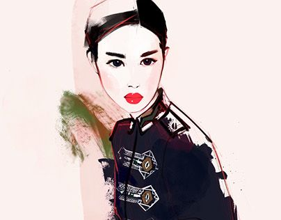 "Check out new work on my @Behance portfolio: ""Fashionillu_33"" http://be.net/gallery/35660369/Fashionillu_33"