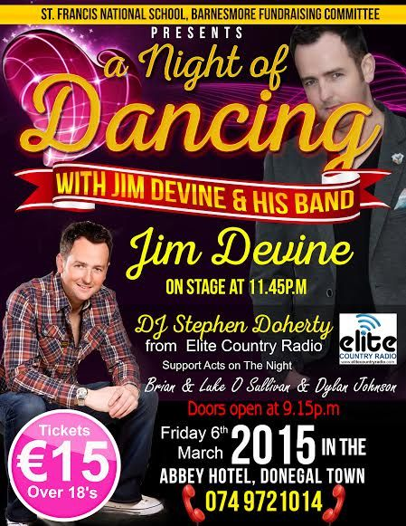 Dancing To Jim Devine Friday 6th March