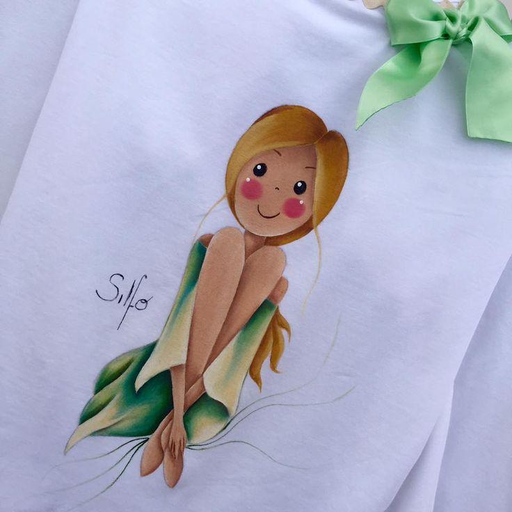 Mejores 316 im genes de estarcido y pintura en tela en - Pinturas para pintar camisetas ...