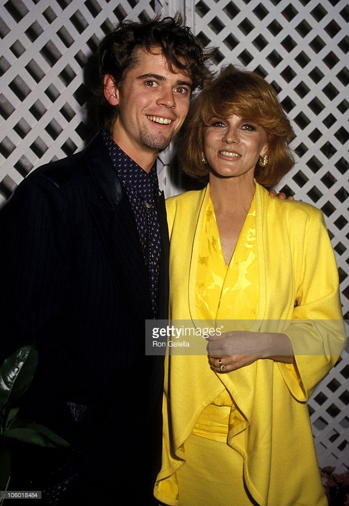 C. Thomas Howell and Ann-Margret during NATO ShoWest '87 - February 11, 1987 at Bally's Grand Casino in Las Vegas, California, United States.